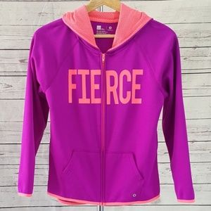 4/$25 Xersion purple FIERCE full zip hoodie jacket